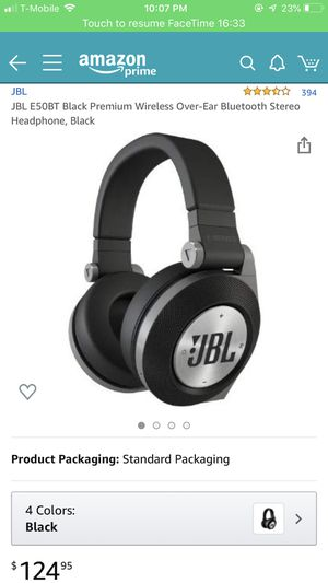 JBL Wireless Bluetooth Headphones GREAT CONDITION for Sale in San Diego, CA