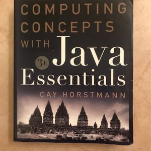 Computing Concepts with Java Essentials 3rd Edition for Sale in Fullerton, CA