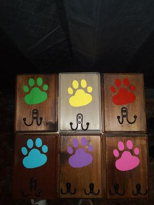 Painted Wood Paw Prints for Sale in Abilene, TX