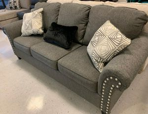 İn stock🍀SAME DAY DELİVERY🍀Agleno Charcoal Sofa for Sale in Jessup, MD