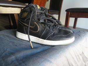 Black and Gold Jordan 1s for Sale in Lake Elsinore, CA