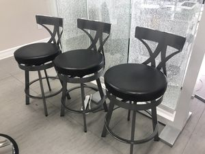 BAR STOOLS FOR SALE (4) 75$ each for Sale in Pembroke Pines, FL