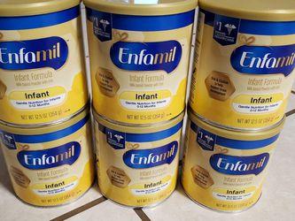 Enfamil $10.00 Each One for Sale in Gibsonton,  FL