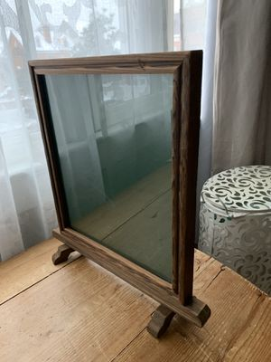 "Standing wooden picture frame. 11"" x 12"" for Sale in Alexandria, VA"