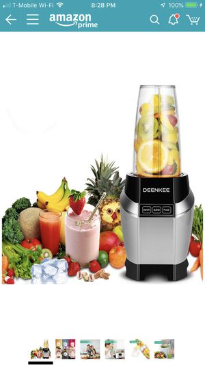 Brand new Smoothie Blender, Personal Blender, Blender For Shakes And Smoothies, Stainless Steel Juicer Blender Electric, Professional-Grade Power,Hig for Sale in Victorville, CA