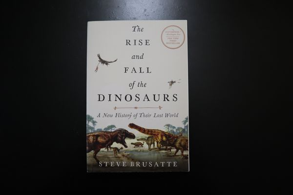 The Rise and Fall of The Dinosaurs Book by Steve Brusatte