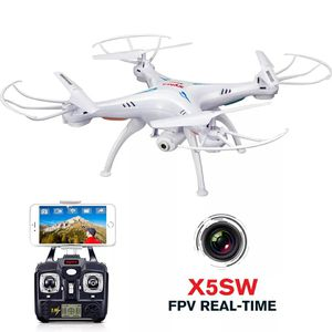 SYMA X5SW Drone with WiFi Camera Real-time Transmit FPV Quadcopter Quadrocopter (X5C Upgrade) HD Camera Dron 4CH RC Helicopter for Sale in Bethesda, MD