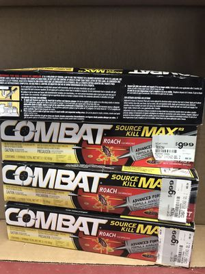 Combat Roach Killer (4) Available $5 Each You Must Pickup for Sale in New Ringgold, PA