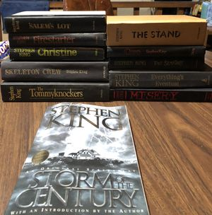 11 Stephen King books - 10 hardcover, 1 paperback for Sale in Glen Ellyn, IL