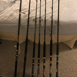 Offshore Fishing Rods for Sale in Fox Island, WA