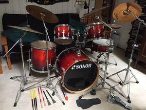 Complete Drum Set! for Sale in Herndon, VA