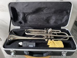 Beautiful Band Concert Silver Trumpet with Black Case for Sale in Santa Fe Springs, CA