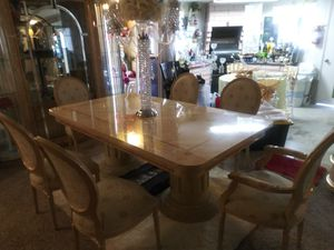 Fine dining table set for Sale in Las Vegas, NV