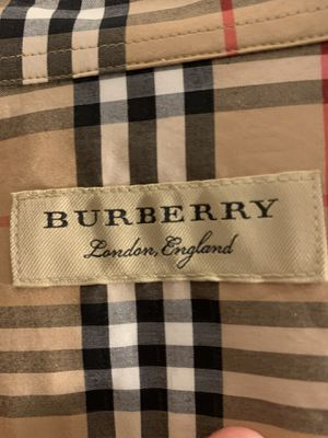 Burberry men shirt for Sale in Willingboro, NJ