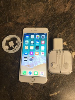 iPhone 6 Plus unlocked for all carriers for Sale in Federal Way, WA