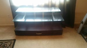 glass top Flat screen TV stand for Sale in Canonsburg, PA