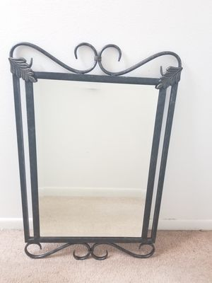 Large Metal Wall Mirror for Sale in Tampa, FL