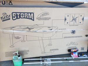 Fat cat storm air hockey table new for Sale in Albuquerque, NM