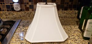 LAMP SHADE IVORY for Sale in Washington, DC