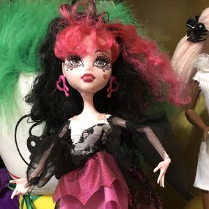 Monster High rare doll Draculaura Ghouls Rule Mattel for Sale in Waukegan, IL