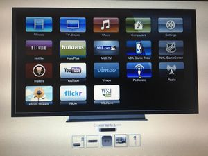 Apple TV (black) MD199LL/A for Sale in Braintree, MA