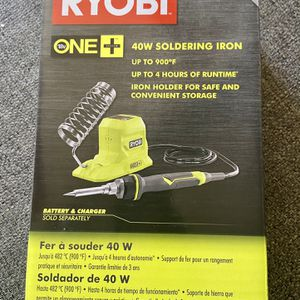 Brand New RYOBI soldering Iron for Sale in Chula Vista, CA