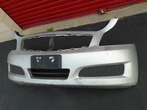 2009 Infiniti g37 hood..fender.bumper parts for Sale in Colton, CA