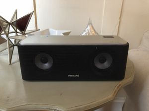Phillips Wireless portable Bluetooth speaker for Sale in Pittsburgh, PA