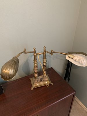Antique dual-control fancy desk lamp 🪔 for Sale in Richardson, TX