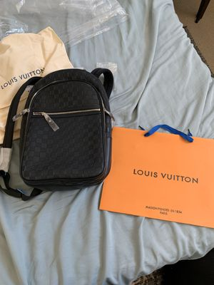 Louis Vuitton Michael N41330 Black Leather Backpack for Sale in Layton, UT