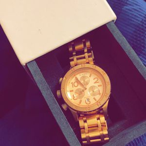 Nixon 38-20 Chronograph Rose Gold Watch for Sale in Mesa, AZ