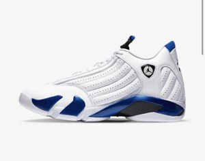 Jordan 14 Retro Hyper Royal Size 10 for Sale in Alexandria, VA
