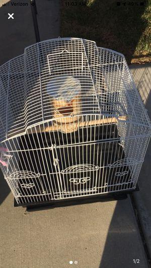 Medium bird cage. for Sale in Sanger, CA