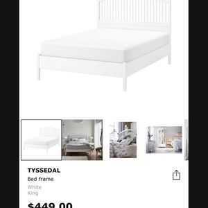 IKEA King size bed for Sale in Washington, DC