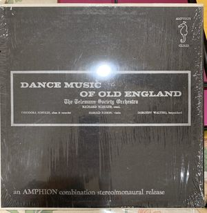 Dance Music of Old England by Richard Schulze vinyl for Sale in McClellan Park, CA