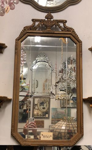 Etched Antique Mirror for Sale in Los Angeles, CA
