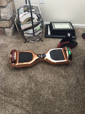 Hoverboard-Bluetooth and led lights for Sale in Aurora, CO