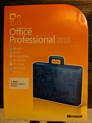 Brand New Microsoft Office Professional 2010-4 available for Sale in Palm Springs, CA