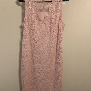 Large/pink Lace/ Stretchy Material for Sale in Brandon, FL