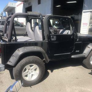 1998 Jeep Wrangler TJ 4cyl Manual for Sale in Auburn, WA