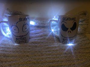 Nightmare before Christmas coffee mugs for Sale in Kosciusko, MS