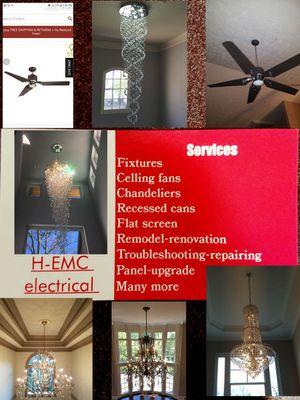 Ceiling fans chandeliers lighting lights for Sale for sale  Woodstock, GA
