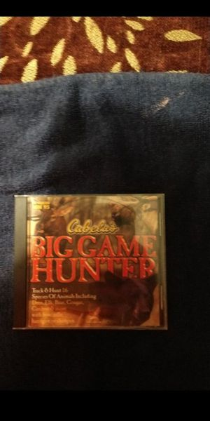 PC/Computer game - Big Game Hunter for Sale in Gervais, OR