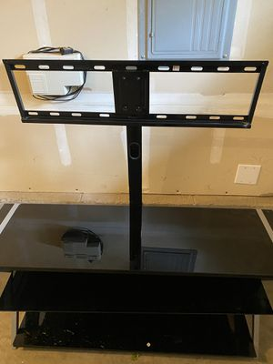 """Glass TV Stand up to 65"""" for Sale in Beaverton, OR"""