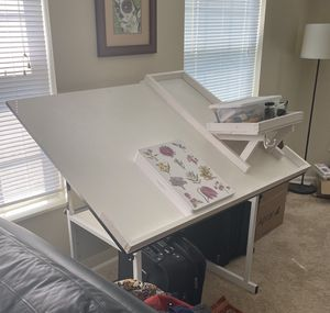 Adjustable Drawing Art Table 48 X 36 for Sale in Columbus, OH