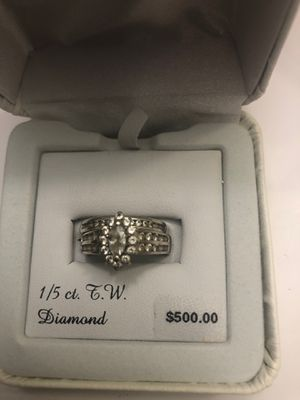 Wedding band set for Sale in Springfield, MA