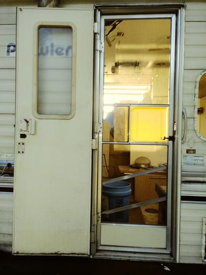 Trailer Camper RV Metal Entry Door for Sale in Orlando, FL