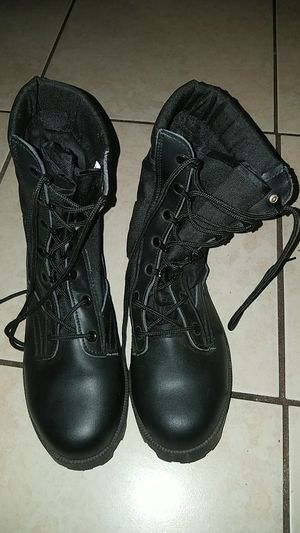 Rothco 5081 GI military combat boots steel toe size 10w for Sale in Saint Petersburg, FL