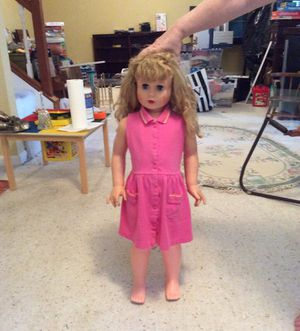 """Vintage """"life size"""" walking doll from the early 60's for Sale in Acworth, GA"""