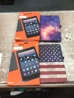 Amazon Fire HD10 Tablet for Sale in Chicago, IL